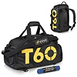 EVIoX Sports Holdall Duffle Backpack Gym Bag + FREE Microfibre Sports Towel |