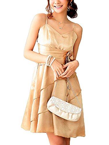 VIP Dress Vestito per il ballo di fine anno in marrone, beige e viola Marrone
