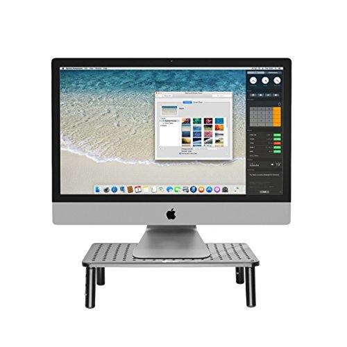 comprare on line Supporto monitor pc premium - il supporto per tv, il design salva spazio e l'altezza regolabile garantiscono l'altezza ideale - Monitor stand prezzo