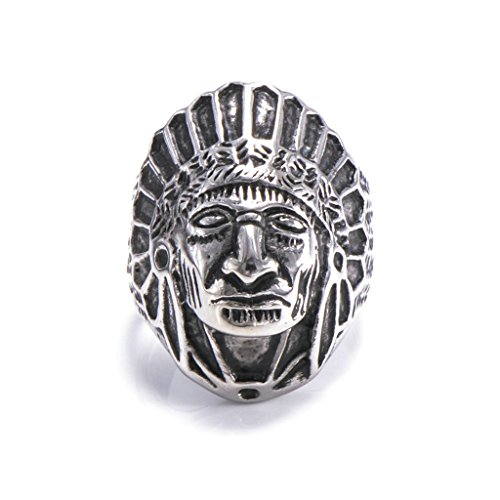 mens-316l-stainless-steel-vintage-indian-chiefs-ring-silver-size-t-1-2