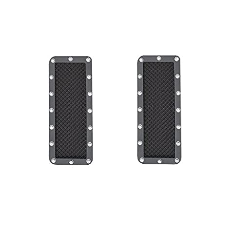 Smittybilt 615830 M1 Stainless Steel Wire Mesh Grille for Ford