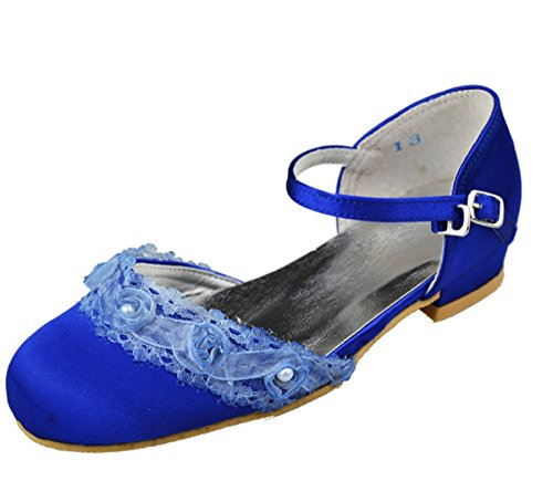 Minitoo - Sandali con Zeppa da ragazza' Blu