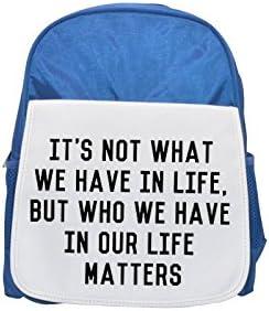 Quote about life partner printed kid's Bleu  backpack, Cute backpacks, cute small backpacks, cute Noir  backpack, cool Noir  backpack, fashion backpacks, large fashion backpacks, Noir  fashion backpac | Une Forte Résistance à La Chaleur Et Résistant à L'u