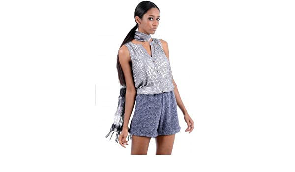 6be8a58abd On Trend Metallic Sparkly Sequin Playsuit In Silver And Blue Or Gold And  Black Available in Sizes Small 8 - 10 Medium 10 - 12 Large 12 - 14 Lace  Sequined ...