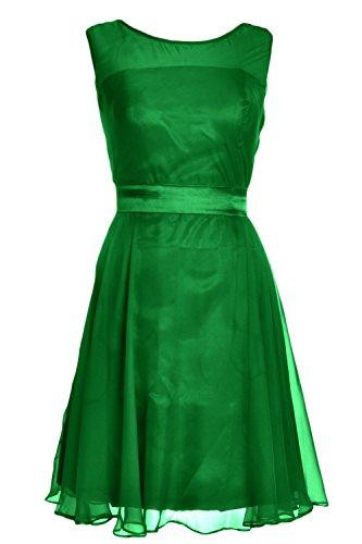 MACloth - Robe - Trapèze - Femme Vert - Vert