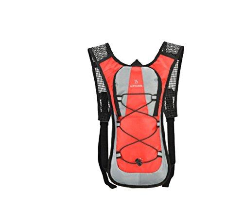 BULAGE Taschen Natur Sport Rucksäcke Art Und Weise Ausdauer Persönlich Männer Und Frauen Langlauf Laufen Reiten Schultern Klettern Nähen Red