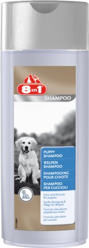 8in1 Welpen Shampoo (für die sanfte Reinigung und Pflege des Welpenfells), 250 ml Flasche (Welpen-shampoo)