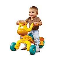 Little Tikes Go & Grow Lil Rollin' Giraffe Ride On - Yellow