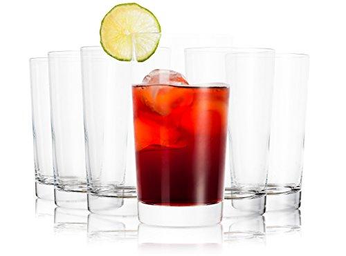 Tivoli Wassergläser Set Ambroise / 6 teilig / Füllmenge: 380 ml   Ein Glas für alle Getränke / der perfekte Allrounder / Gastronomiegeeignet / Spülmaschinenfest
