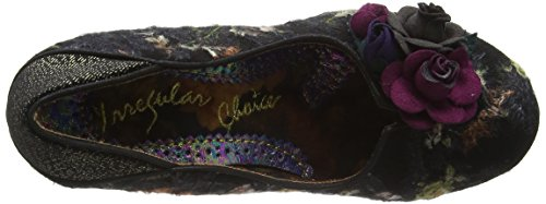 Irregular Choice Winchester, Escarpins femme Noir - Black (Black Multi)