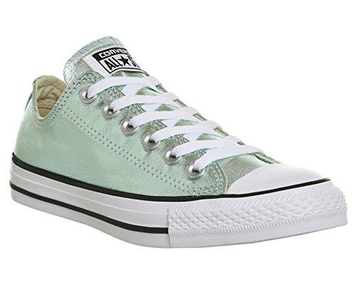 1J793 Converse Mandrini Charcoal Grey Chuck Taylor All Star HI Verde