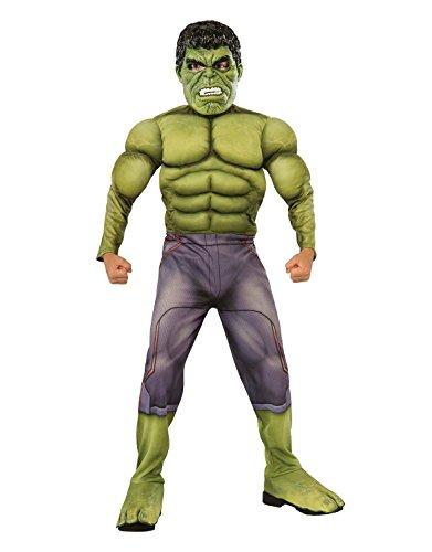 Marvel Hulk Avengers Age of Ultron Kinder Muskel Brust Kostüm Fasching Halloween Karneval Hulk (Incredible Kostüme Hulk Kind)