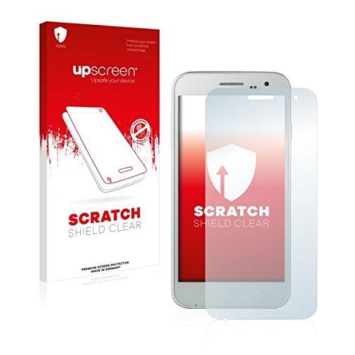 upscreen Scratch Shield Clear Bildschirmschutz Schutzfolie für Doogee Voyager2 DG310 (hochtransparent, hoher Kratzschutz)
