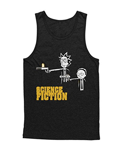 Tank-Top Rick and Morty