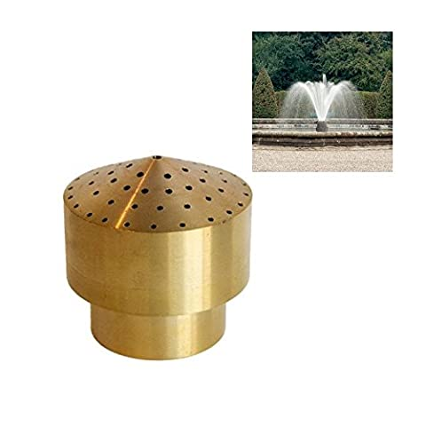 "NAVADEAL 3/4"" DN20 Brass Cluster Water Fountain Nozzle Spray Sprinkler Head"