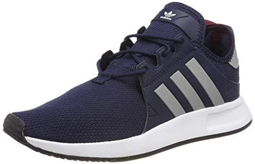 adidas X_PLR, Herren Gymnastikschuhe, Blau (Collegiate Navy/Silver Met./Collegiate Burgundy), 45 1/3 EU -
