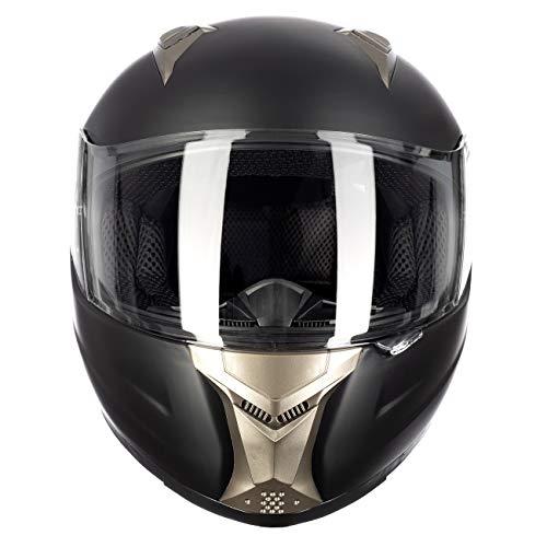 d45112462ec Westt Casco Moto Integral - Storm Negro Mate ECE ...