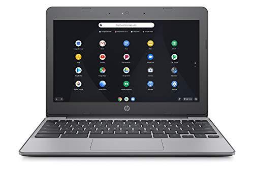 HP Chromebook 11-v001na 11.5 Inch Laptop - (Silver) (Intel N3060, 4 GB RAM, 16 GB eMMC, 100 GB Cloud Storage with Google One (1 Year Subscription) Chrome OS)