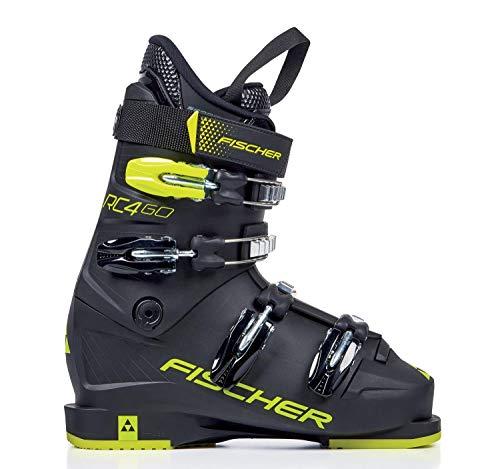 Fischer Unisex Jugend Kinder Skischuhe schwarz 25 1/2, 25.5