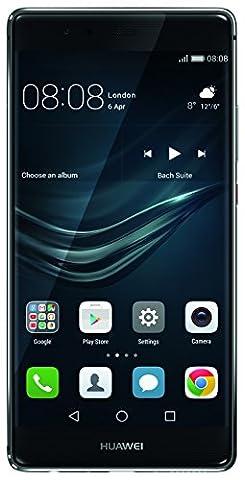 Huawei P9 Plus Smartphone débloqué 4G (Ecran: 5,5 pouces - 64 Go - 4 Go RAM - Android 6.0 Marshmallow) Gris
