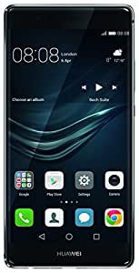 Huawei P9 Plus Smartphone, LTE, Display 5.5'' FHD, 64 GB Memoria Interna, 4 GB RAM, Fotocamera 12 MP, Batteria 3400 mAh, Grigio