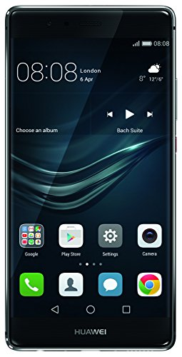 Foto Huawei P9 Plus Smartphone, LTE, Display 5.5'' FHD, 64 GB Memoria Interna, 4 GB RAM, Fotocamera 12 MP, Batteria 3400 mAh, Grigio