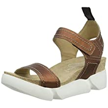 Fly London Women's SENA580FLY Open Toe Sandals, Brown (Copper 003), 3 (36 EU)