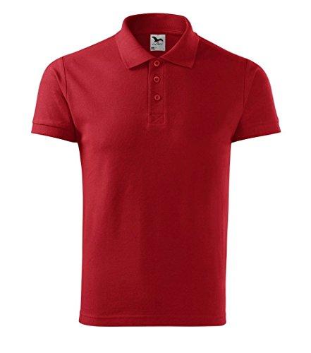 Dress-O-Mat Herren Poloshirt Shirt Polohemd Rot