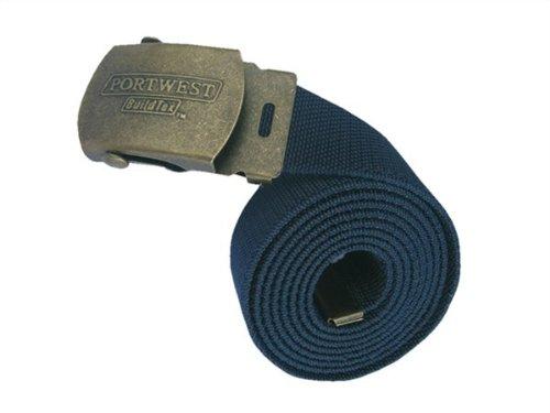 Preisvergleich Produktbild Portwest elastischer Workwear Werkzeuggürtel in Marineblau