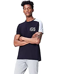FIND T-Shirt con Stampa sul Petto Uomo