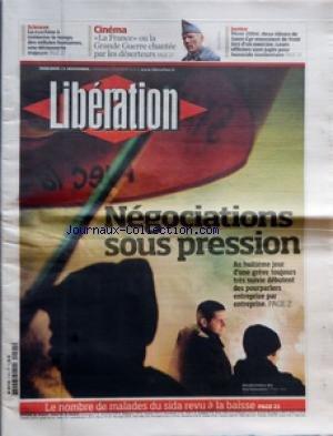 LIBERATION [No 8255] du 21/11/2007 - SCI...