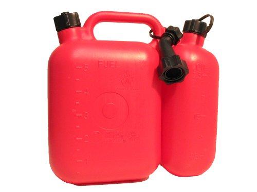 Preisvergleich Produktbild Filmer 38140 Kombi-Kanister f. Benzin u. Öl, 5 & 2,5 ltr.