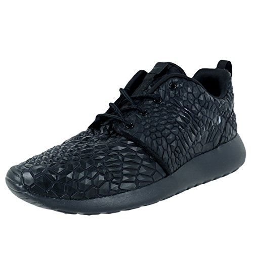 Nike, Donna, Roshe Run Diamond Collection, Poliestere, Sneakers, Nero Nero