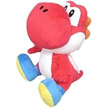 Nintendo Yoshi 17cm Peluche rot - [Edizione: Germania]