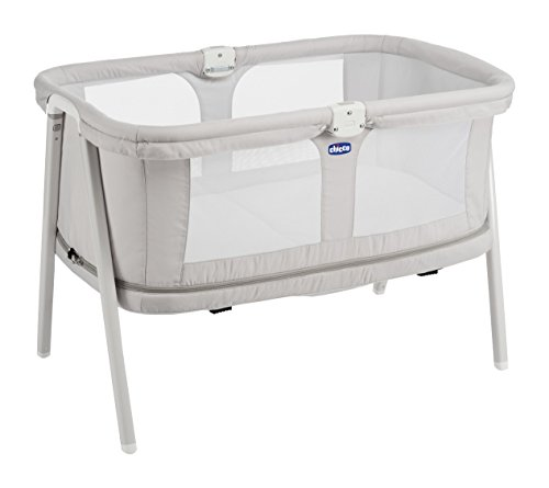 Chicco Lulla Go Zip - Cuna ultraligera transformable, 0-18 meses,...