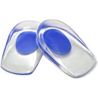 OurLeeme 1 Paar Weiches Silikon Ferse Gel Stützpad Fußpflege Halbhöhe Kissen Sohle Schlagmatte preisvergleich bei billige-tabletten.eu