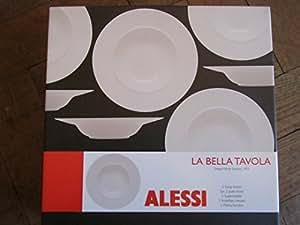 Alessi la bella tavola soup plates 2 ettore sottsass - Alessi la bella tavola ...
