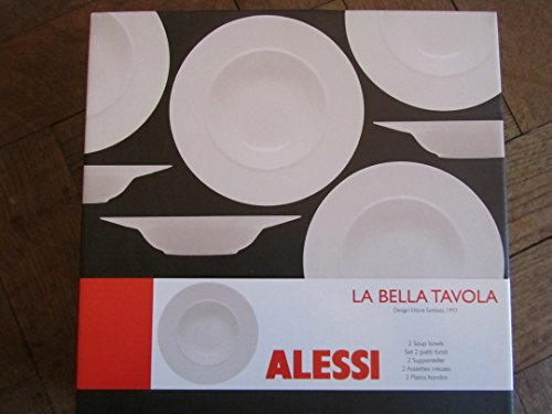 ALESSI LA BELLA TAVOLA SUPPENTELLER ETTORE SOTTSASS 1993, 2 STÜCK (Ettore Sottsass Alessi)
