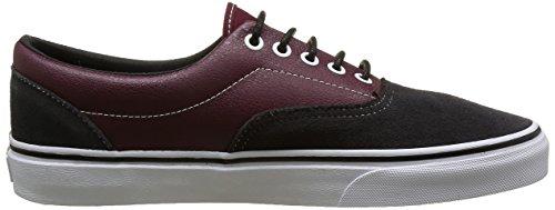 Vans Era Unisex-Erwachsene Sneakers Mehrfarbig ((Suede & Leather) Port Royale/Asphalt)