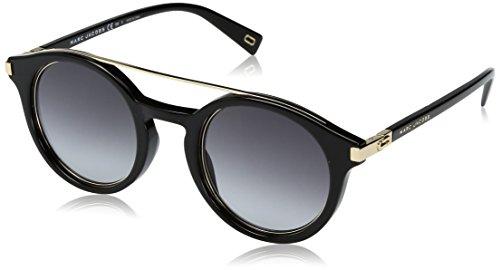 Marc Jacobs Unisex-Erwachsene MARC 173/S 9O 2M2 48 Sonnenbrille, Schwarz (Black Gold/Dark Grey Sf),