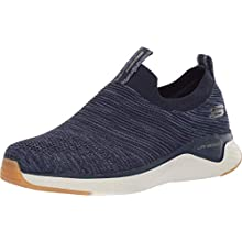 Skechers SOLAR FUSE, Men's SOLAR FUSE, Blue (Navy Mesh/Synthetic/Trim Nvy), 8 UK (42 EU)