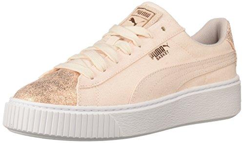 67d113d98c77 Puma - Chaussures à Plateforme en Toile pour Femmes, 42 EU, Pearl/Rose