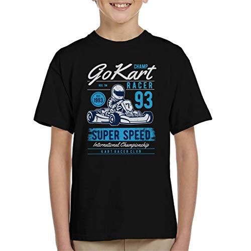 Champion Go Kart Racer Kid's T-Shirt -
