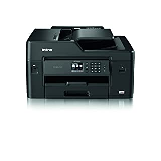 Brother MFC-J6530DW Colour Inkjet Printer | Wireless, PC Connected & Network | Print, Copy, Scan, Fax & 2 Sided Printing | A3