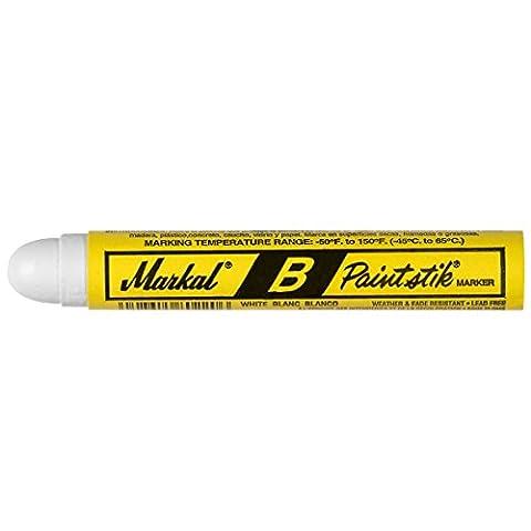 MARKAL 80220 B Paintstik marqueurs, Blanc (Pack de 12)