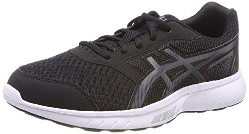 Asics Stormer 2, Zapatillas de Running para Hombre, Negro (Black/Carbon/White 9097), 44.5 EU
