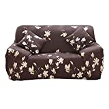 HOTNIU 1 Stück Stretch Sofa Couch Bezüge - Spandex Printed Loveseat Couch Schonbezug - Sessel Sesselbezug/Protector One Free Kissenbezug (3 Sitzer 175-220cm, Gemustert #Thyx)