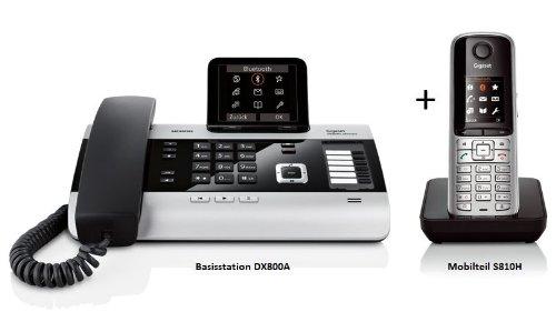Siemens Gigaset DX800A mit AB + S810H Duo ISDN