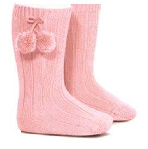 Baby Socks Baby Mädchen (0-24 Monate) Socken pink rose Baby (Lacy Socken Für Babys)