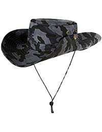 Emmala Cappello da Caccia Mimetico da da Uomo Caccia Elegante Mimetico  Unico Cappello da Pescatore Tattico 9e3a1d72a13d